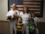 Robin, Serena, Jilian baptism