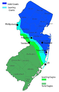 Where Is The Line Between North South Jersey New Jersey - South jersey map