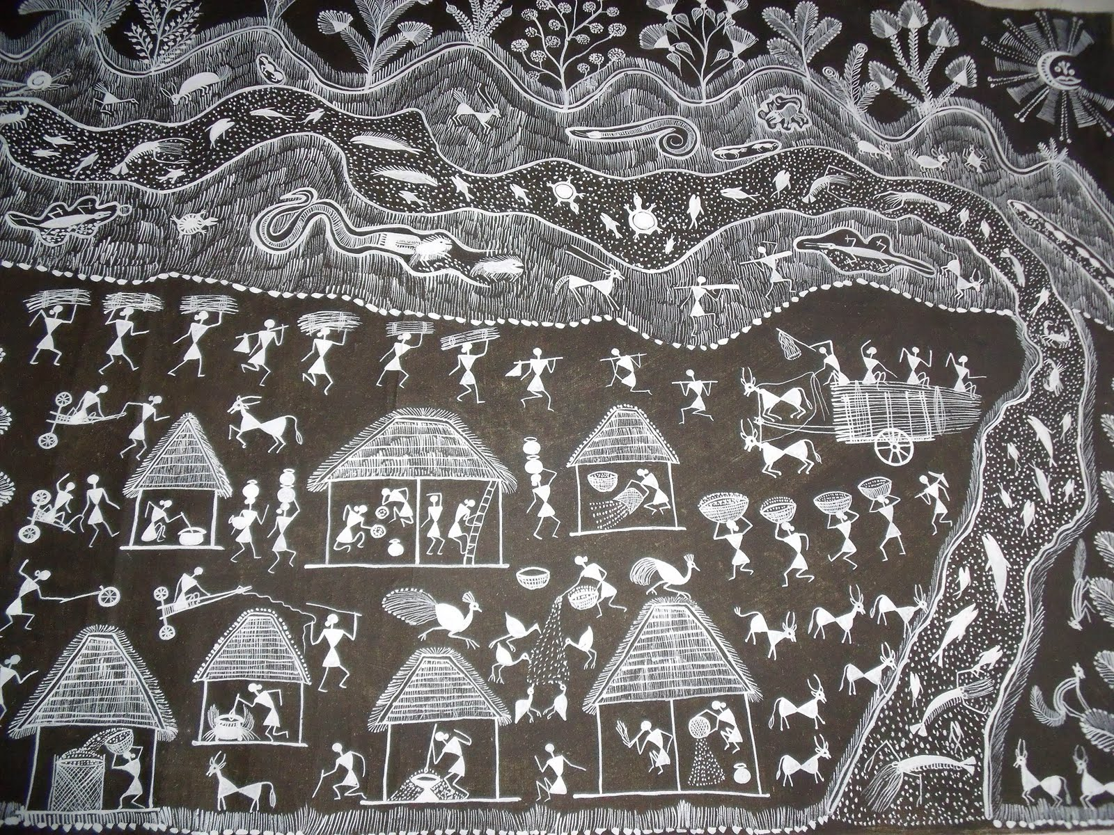 Saritha Rao Rayachoti: Warli Art
