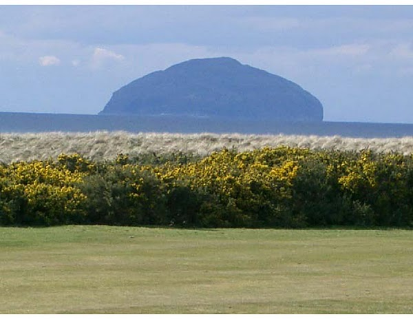 SCOTLAND—The uninhabited island of Ailsa Craig, now a bird sanctuary, in the Firth of Clyde/@Dumas