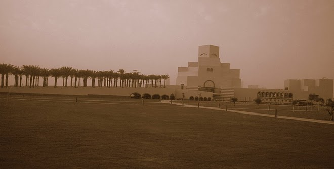 QATAR - The Museum of Islamic Art, ARCHITECT:  I.M. Pei / @JDumas