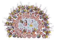 Mithila Art (Chhath Festival)