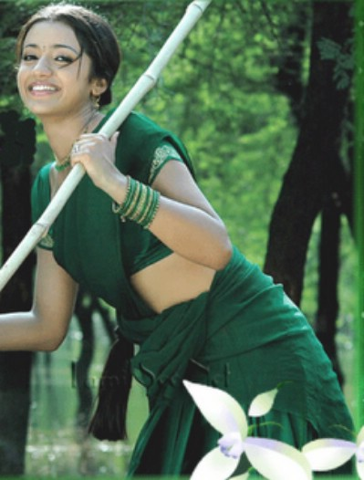 south india actress trisha krishnan hot wet and navel show image gallery