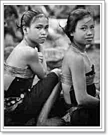 dusun girls old The Austronesian Language