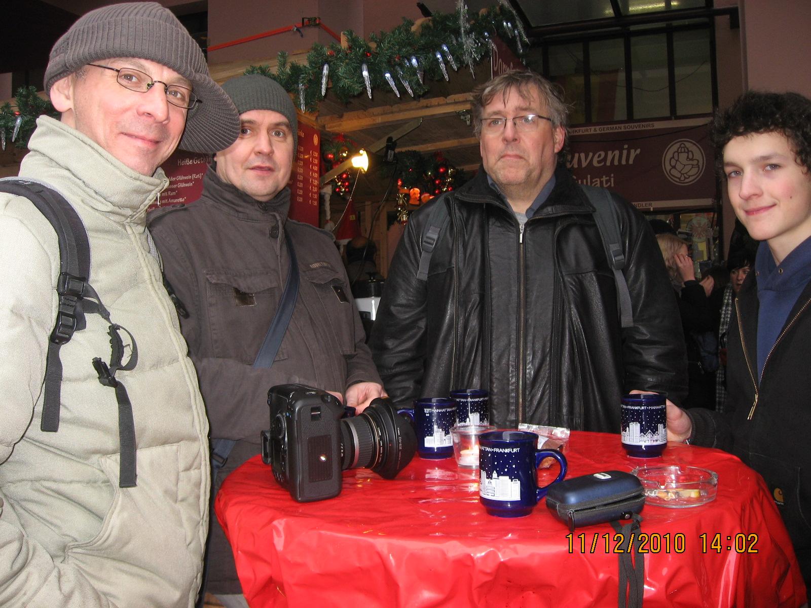 Weihnachtsmarkt Römer FFM 2010