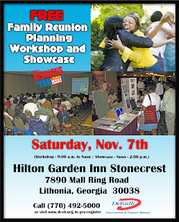 Free Family Reunion Planning Workshop And Showcase This