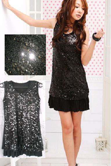 CUTE SEQUINS DRESS - RM 45.00