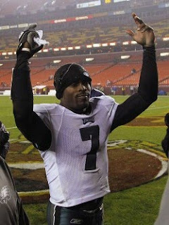 Vick-torious Revenge - Eagles in NFC East 1st Place Tie
