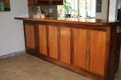 CUSTOM KITCHEN BAR, Designed &amp; Built By Carl
