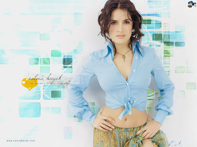 salma hayek wallpapers hot. Salma Hayek Wallpapers, Salma
