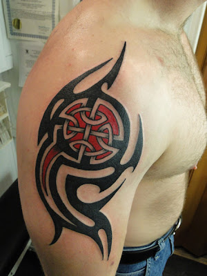 Tribal Celtic Tattoos on Celtic Tribal Tattoo Wallpaper