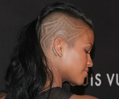 cassie new hairstyle. Cassie Shaves Hairstyles