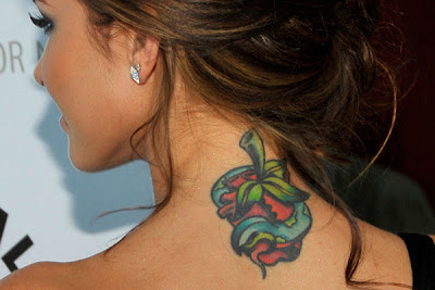 Celeb Tattoos on Celebrity Tattoos  Beautiful  Famous  Female Celebrity Tattoos
