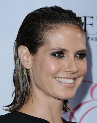 Woman And Men Hairstyles Shoulder Length Hairstyles Heidi Klum