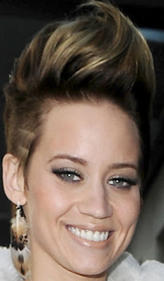 Kimberly Wyatt Fauxhawk Hairstyles