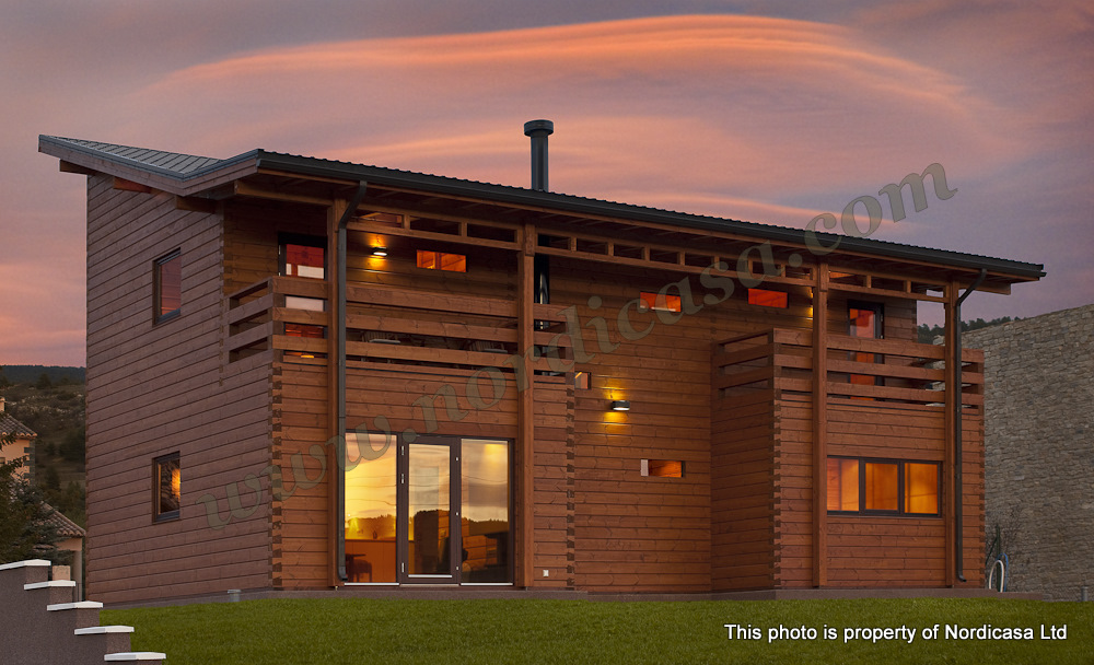 Construyendo tu futuro t cnica de construcci n 1 - Casas de madera lujo ...