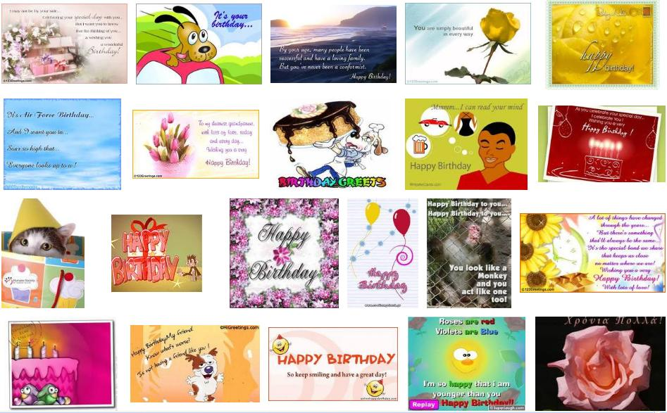 Birthday E-Cards Free Way of Sending Your Birthday