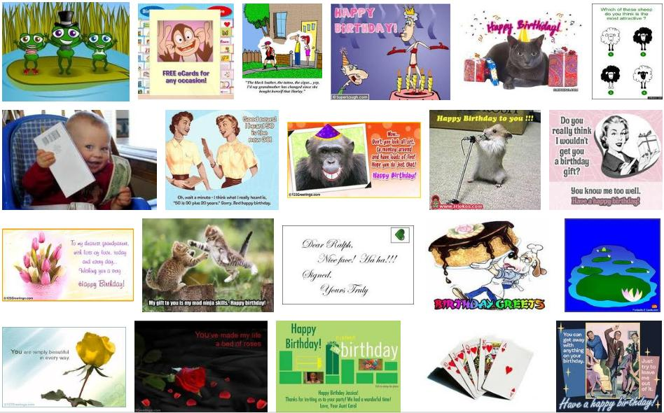 adult animated birthday cards № 76827