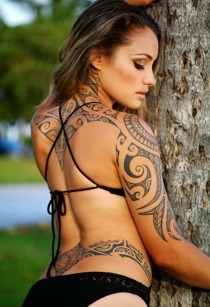 tribal tattoo design for girls