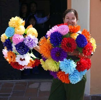 how to make paper flowers for kids. How To Make Paper Flowers With