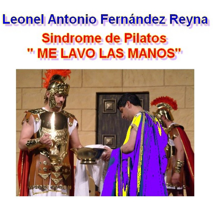 tatuaje leonel fernandez. Leonel Fernández Reyna y el Síndrome de Pilatos.