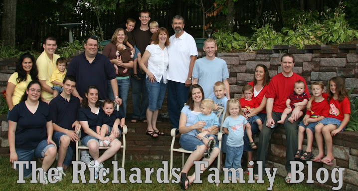 The Richards Family Blog