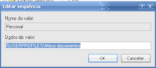Editor de registro do windows