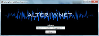 Alterando a Cor do Nick Alteriwnet_configure