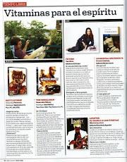 """Recomendación de """"Un mortal sin pirueta en revista Men´s Health/ Mayo 09"""
