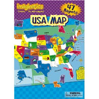 Geography Products Round Up The End In Mind - Magnetic us map