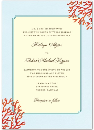 It is probably nicer than our original wedding invitations but reaffirming
