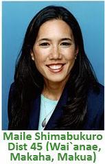 Rep. Maile Shimabukuro