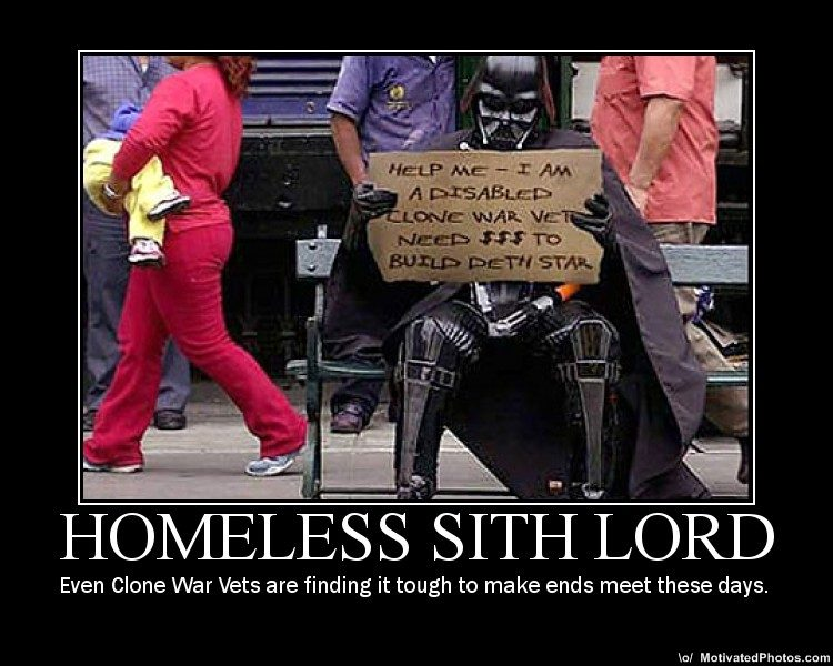 25 Star Wars Demotivational Posters With the showing on TV this evening of