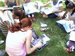 Copii, cărți și turtă dulce