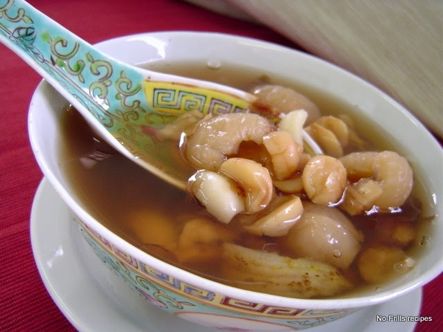 how to cook lotus seed dessert