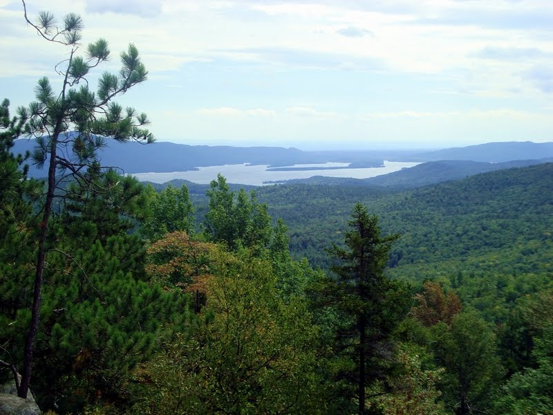 Southern basin of Lake George