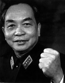 the ultimate General, Vo Nguyen Giap, slightly aggressive. Be Aware and Declare!