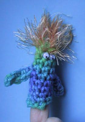 Pocket Potter Puppet Pals - crochet