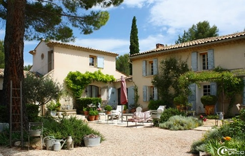 Beautiful homes series a provence farmhouse for French countryside homes