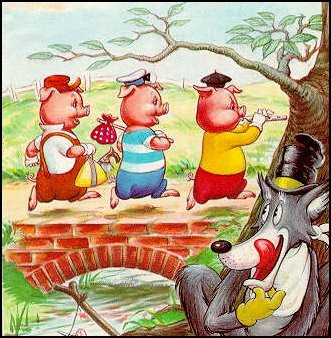THE TRUE STORY OF THE THREE LITTLE PIGS   AS TOLD TO JON SCIESZKA    Three Little Pigs Story Online