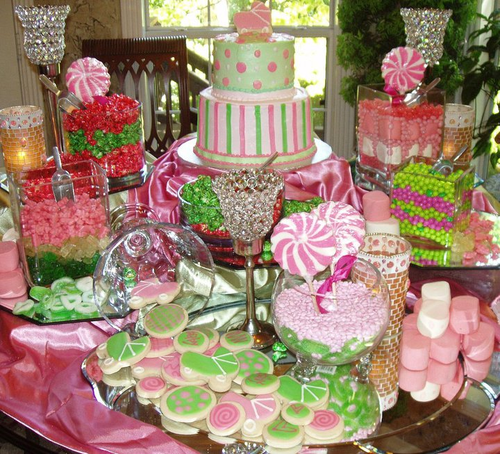 Tablescapes For Baby Girl Shower