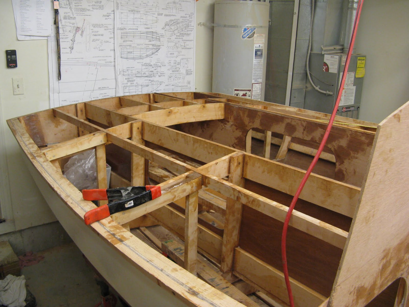 Hartley TS14 Construction: Cockpit Framing