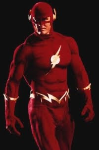 The Flash in a live action movie!