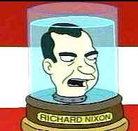 Nixon Head on Futurama