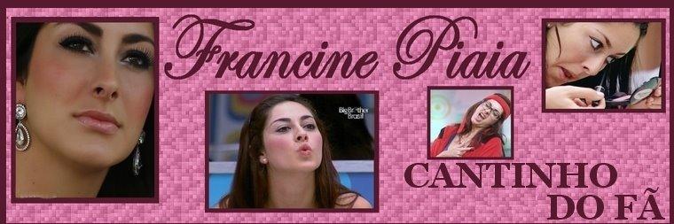 Francine Piaia - CANTINHO DO FÃ