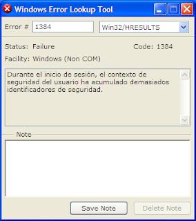 Revela lo que significan los códigos de error de windows