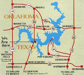 Lake Texoma Map