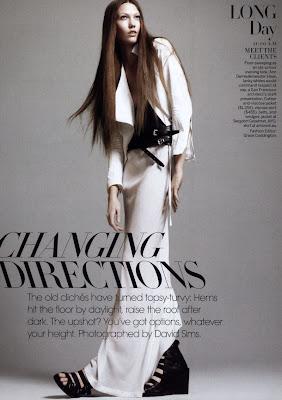 Vogue US - Abril 2010