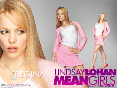 Large Images: Sexy mean girls Lindsay Lohan Wallpapers