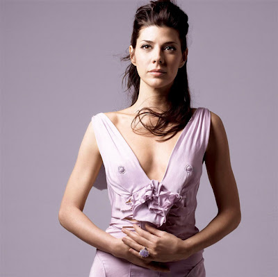 Marisa Tomei Nips from Designer Dress